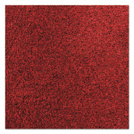 Crown Rely-On Olefin Indoor Wiper Mat, 36 x 120, Red/Black (CWNGS0310CR)