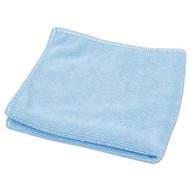 "Diversey TASKI Microstandard Cloths, Blue, 12 1/2"" x 12 1/2"", 20/Pack (DVO5787148)"