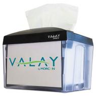 Morcon Paper Valay Nap Interfolded Napkin Dispenser, 6.14 x 8 x 6 1/2, Black, 24/Ctn (MORNT111CT)