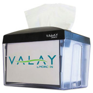 Morcon Paper Valay Nap Interfolded Napkin Dispenser, 6.14 x 8 x 6 1/2, Black (MORNT111EA)