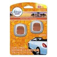 Febreze Car Vent Clips, Hawaiian Aloha, 2 ml Clip, 2/Pack (PGC94734PK)