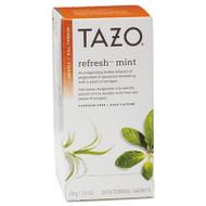 Tazo Tea Bags, Refresh Mint, 1 oz, 24/Box (TZO149902)