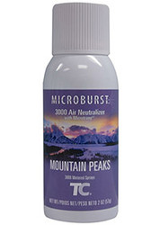 Rubbermaid Microburst 3000 Refills (Case of 12) - Mountain Peaks