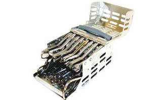 Cargo 10 plier orthodontic cassette-cargo box with removable instrument tray