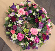 Colourful Wreath - Medium - Diameter c 40cm