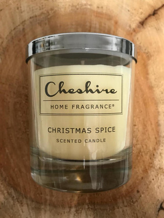 All the fragrance of Christmas in one jar! A shop favourite, this Cheshire Home Fragrance Candle is handmade locally, and we are proud stockists.