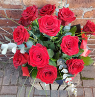 SOLD OUT Valentine Flowers - Romance - 18 Red Roses