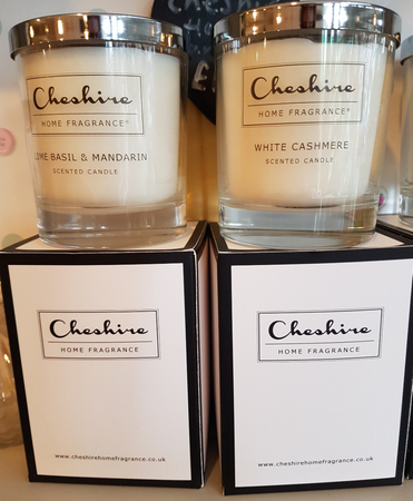 Chelsea Flowers are a proud stockist of 'Cheshire Home Fragrance' brand, who make and supply luxury fragranced candles 'handmade with love' in Cheshire - using vegan friendly and cruelty free ingredients.  If you have a preferred fragrance please check with the shop team so that we can confirm availability. We change our fragrance selection from month to month. Alternatively we will select from our stock for you. They all smell fabulous!