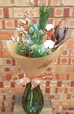 Our 'Glad Tidings' is a long-lasting, festive and natural bouquet, that will see the recipient through the Yuletide season beautifully!(Vase shown not included).