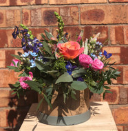 Our 'Summer Hatbox' will included vibrant Summer Blooms selected by our florist to complement each other in one of our special Chelsea Flowers Hatboxes. Expect vibrant pinks, oranges, purples, yellows and reds. Our Florists will select the most suitable flowers available on the day so each Hatbox will appear slightly different although the overall Chelsea Flowers style will remain.