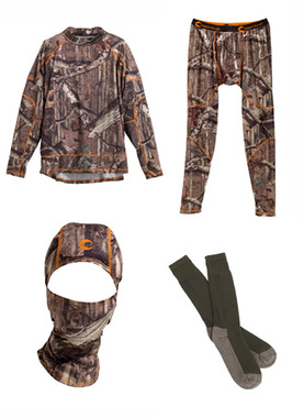 Copperhead Clothing Complete Mossy Oak Base Layer Set