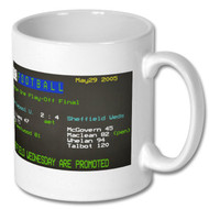 Sheffield Wednesday 2005 Play Off Final Ceefax Mug