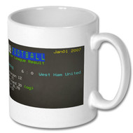 Reading 6 West Ham United Ceefax Mug