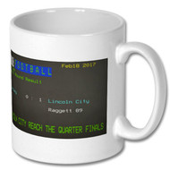 Burnley 0 Lincoln City 1 FA Cup Ceefax Mug
