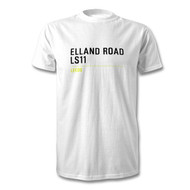 Leeds United Elland Road Road Sign T-Shirt