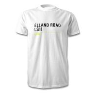 Leeds United Elland Road Road Sign T-Shirt