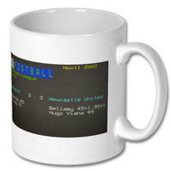 Feyenoord 2 Newcastle United 3 Ceefax Mug