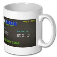 England v Australia-  2nd Ashes test 2005 Ceefax mug