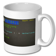 Rep of Ireland 1 Netherlands 0 Ceefax Mug _ Kevin Kilbane's Choice