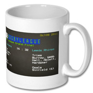 2011 Rugby League Grand Final Ceefax Mug