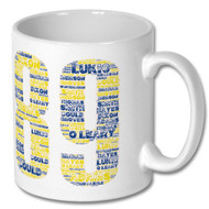 Arsenal 89 Word Cloud Mug