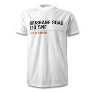 Leyton Orient Road Sign T-Shirt - Brisbane Road