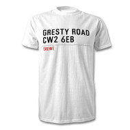 Crewe Alex' Road Sign T-Shirt - Gresty Road