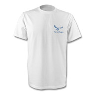Yarm Rugby TeeJays T-Shirt - White and Navy