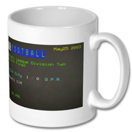 Cardiff City 1 : 0  Q.P.R. Play Off Final Ceefax Mug