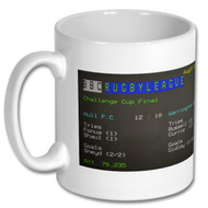Hull FC 2016 Challenge Cup Ceefax Mug - Free UK Delivery