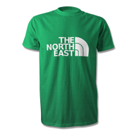 North East T-Shirt in Blyth Spartans Colours -Free UK Delivery