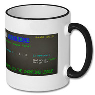 Spurs 0 : 2 Liverpool  Champions League Final Ceefax Mug