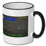 Chelsea 4 : 1 Arsenal Europa League Final Ceefax Mug