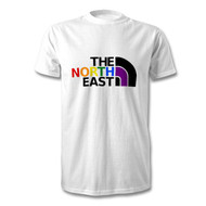 North East LGBT Rainbow Colours Fundraising T-Shirt - Free UK Delivery