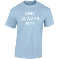 Mario Balotelli 'Why Always Me?' Fundraising T-Shirt