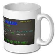 Chertsey Town 3 Cray Valley (PM) 1 Ceefax Mug - Free UK Delivery