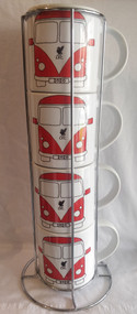 LFC Camper Van Stacker Mug Set - Free UK Delivery