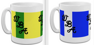 West Brom Retro Home and Away Mug Set