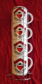 Retro Manchester United Stacker Mug Set