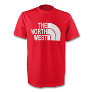 North West T-Shirt in Red and White
