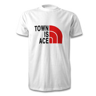Prestatyn Town FC ( North Face Style ) T-shirt