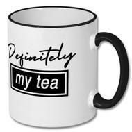 """Definitely My Tea"" Mug - Includes £2 donation to @MCFCfoodbank"