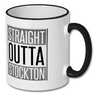 Straight Outta Stockton Mug -  In Support of Stockton Foodbank