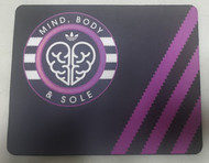 Mind Body And Sole Mouse Mat