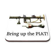 Al Murray Special - Bring Up The PIAT Coaster - Free UK Delivery