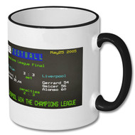 Liverpool 3 : 3 AC Milan CL  Final Ceefax Mug - Free UK Delivery