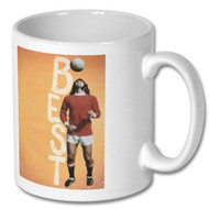 George Best Mug - Free UK Delivery