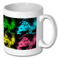 Lakey and Bish' Pop Art Mug - Free UK Delivery