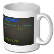 West Brom FA Cup Final 1968 Ceefax Mug -  Free UK Delivery
