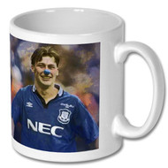 Duncan Ferguson Blue Nose Mug - Free UK Delivery